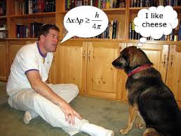talking to dog